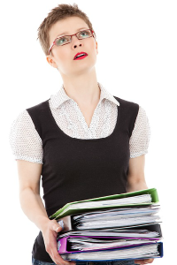 worried about books png